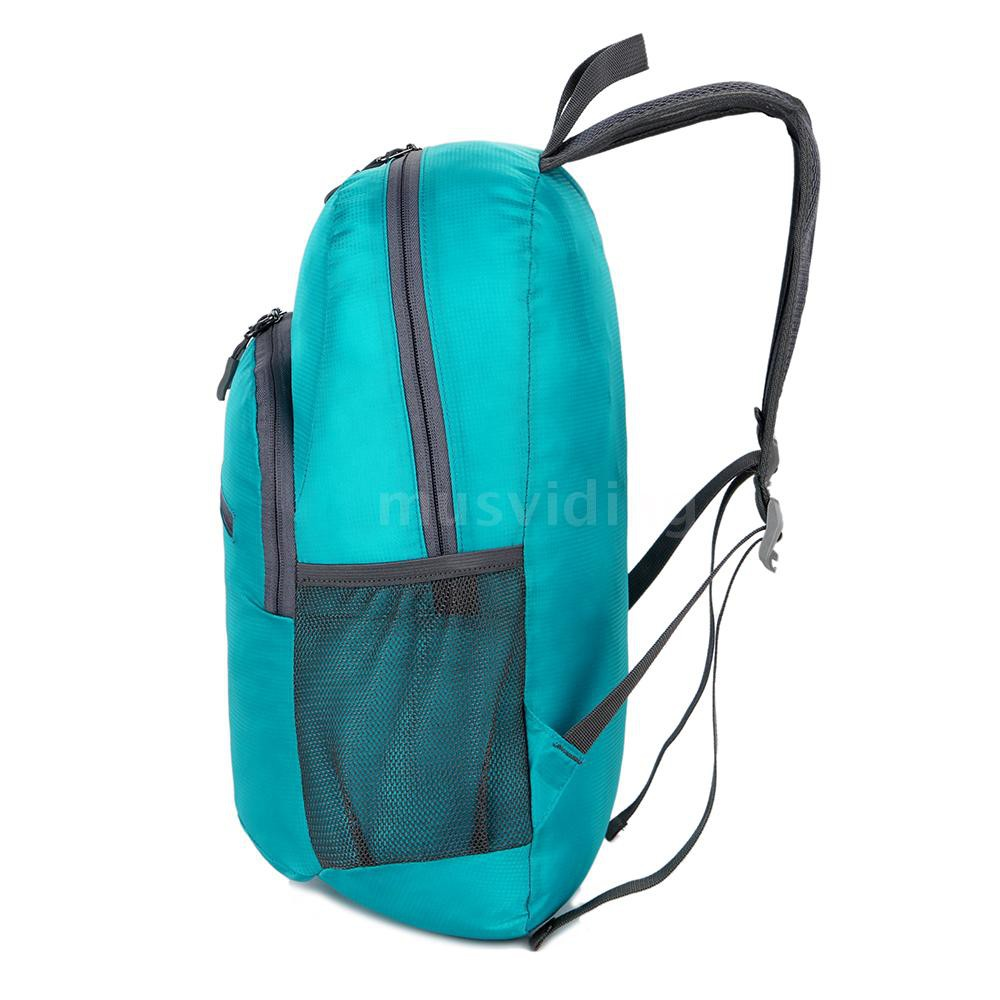 179c3f603689 18L Packable Backpack Lightweight Foldable Travel Backpack Daypack Bag  Outdoor Sport Camping Hiking Cycling