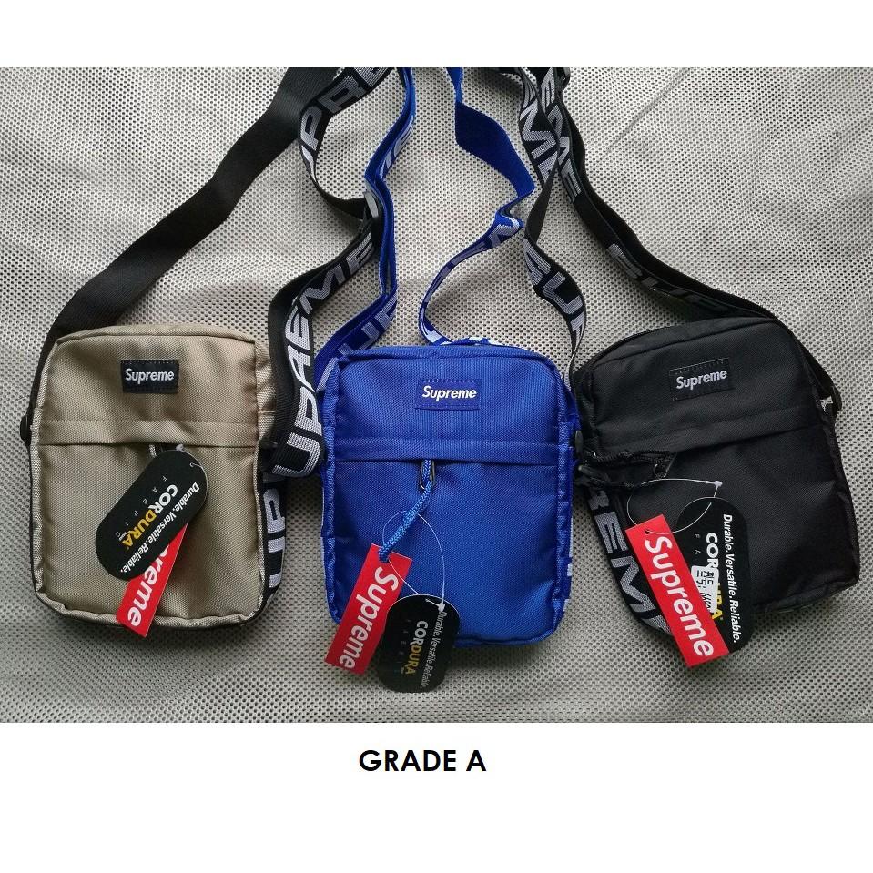 Malaysia Ready Stock] Supreme SS18 Shoulder Bag Sling Bag Cross