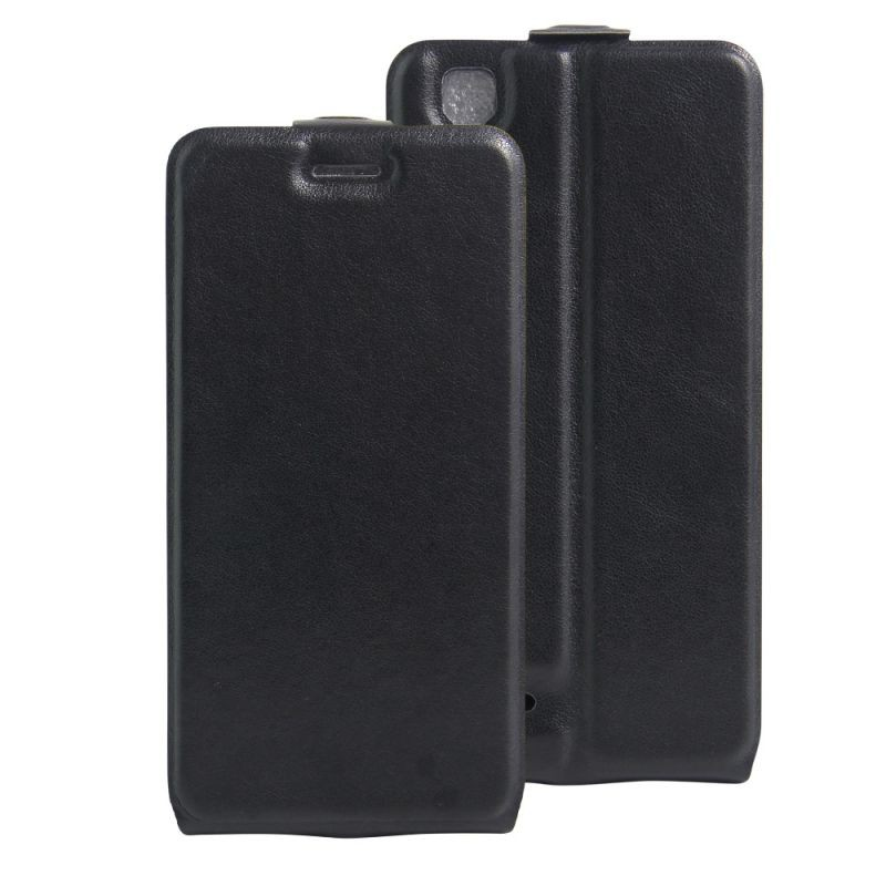online store e36ac 5c4e2 Clamshell Leather Case Built in Card Slot For OPPO F1