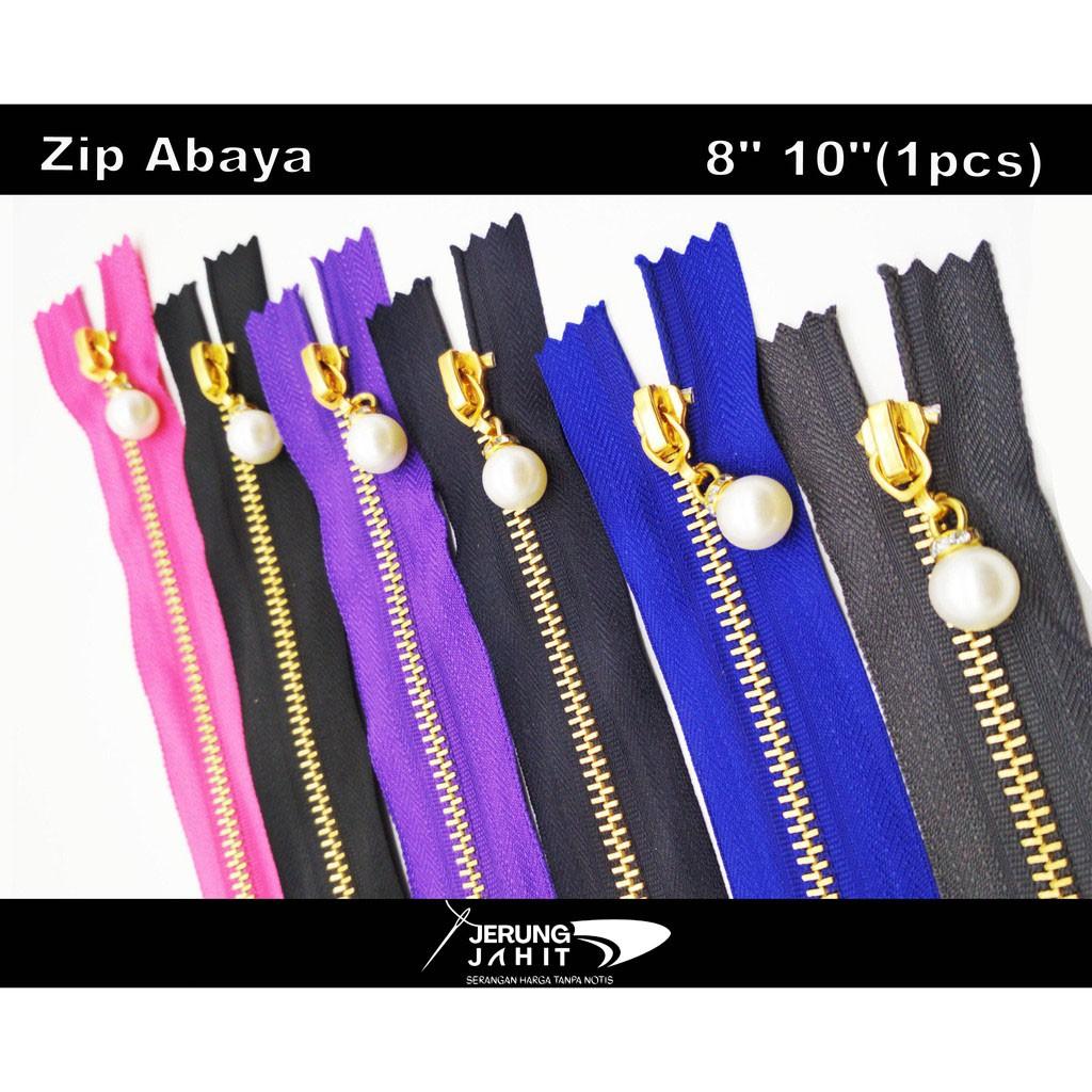 """Zip Abaya 8"""" 10""""(1 pcs)"""