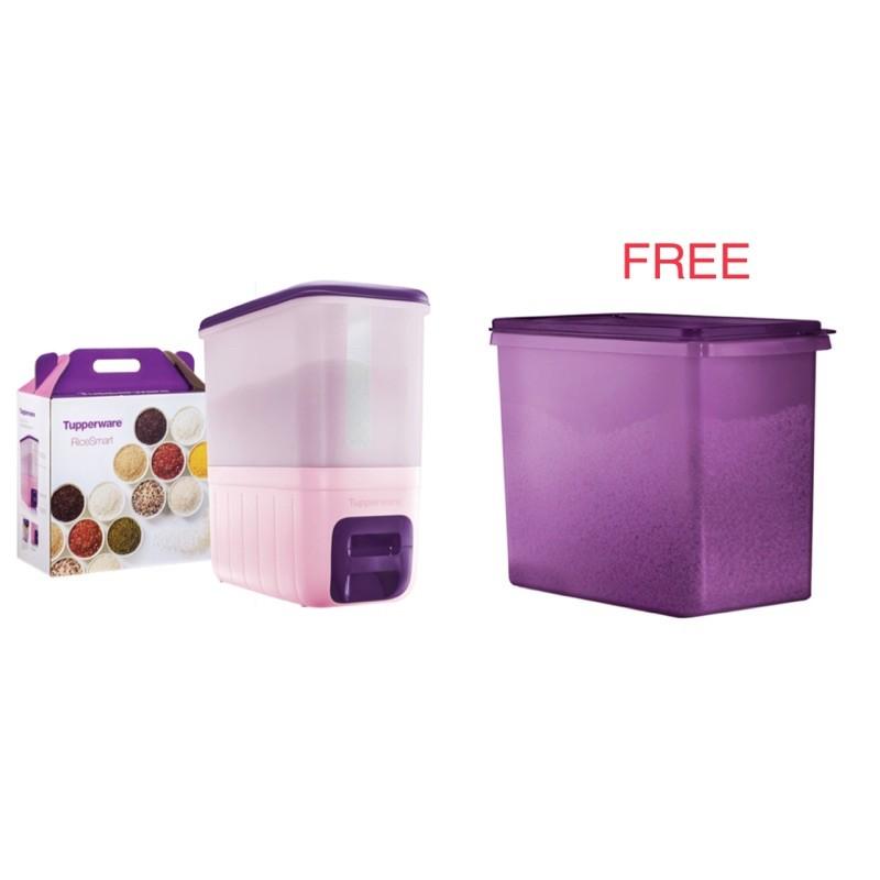 Tupperware purple RiceSmart 10kg