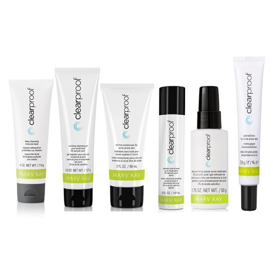 Mary Kay Authentic Clear Proof Acne Complete Set 100 New Shopee