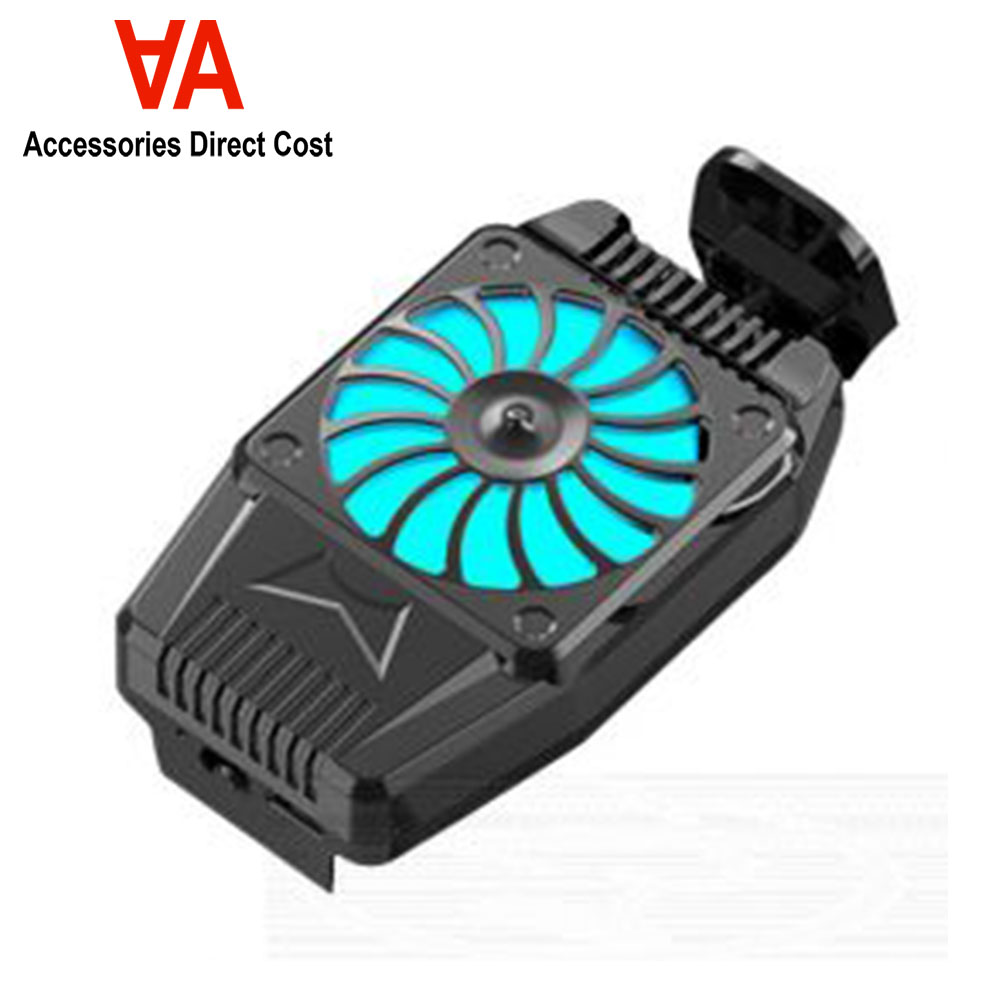 H15 Cooling Pad for Mobile Phone PUBG Gaming 2 Cooling Fan