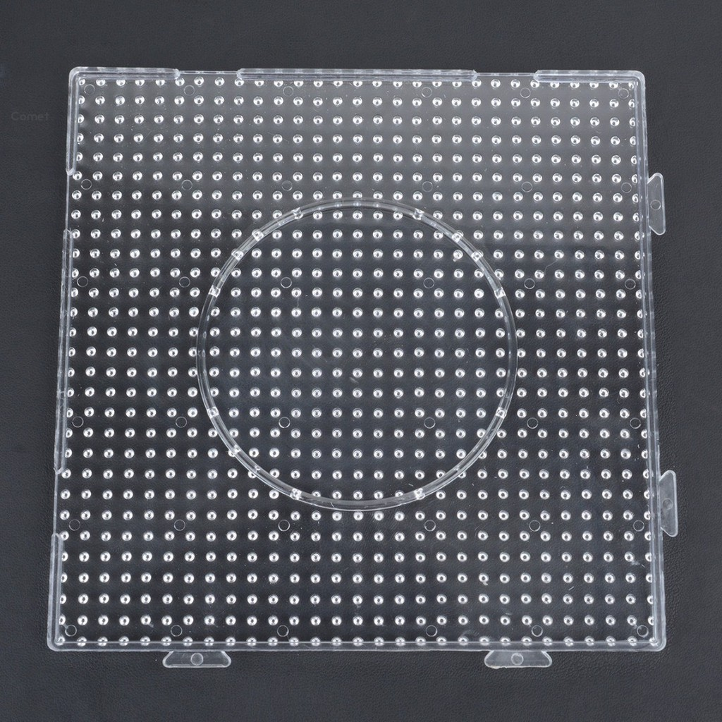For Kids Plastic Large Fuse Perler Beads Boards Square Pegboards DIY Durable