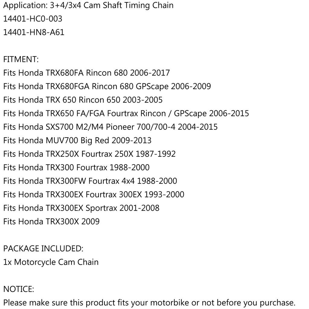 TRX300 1988-2000 14401-HC0-003 Honda TRX 300 Fourtrax Cam Chain