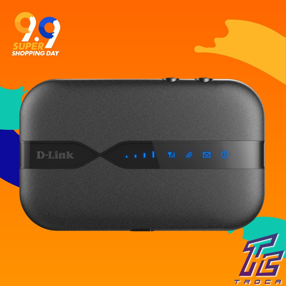 D-Link DWR-932C-E1 4G LTE Wireless N300 Broadband Wifi Mobile Modem Router  [New Version E1]