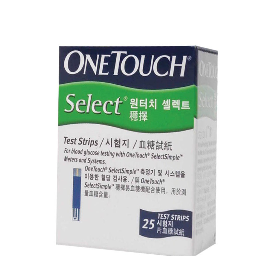 One Touch Select Simple Test Strips 25\'s / 2x25\'s (Exp: 03/2021)