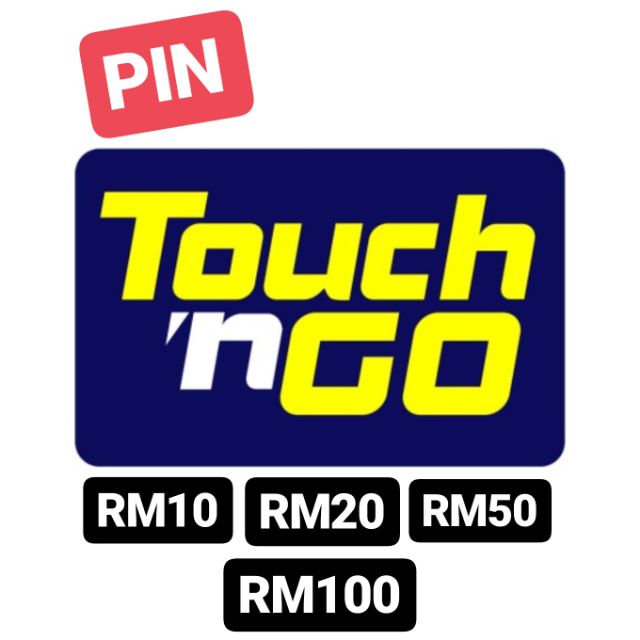 Touch N Go Topup Pin E Wallet Rm10 Rm20 Rm50 Rm100 Shopee Malaysia