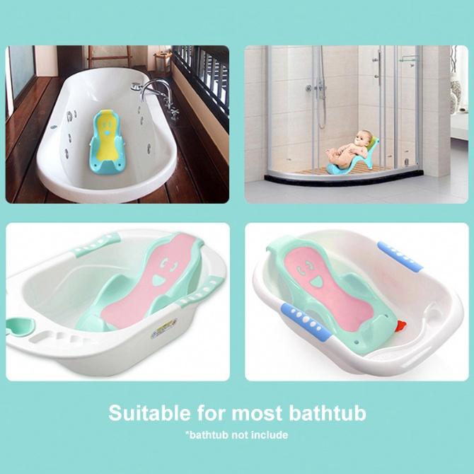 Baby Bathtub Plastic Support Baby Bath Tub Bath?Stand Baby Shower Bath Rack Bayi Mandi Bath Chair Bath Seat Bath Bed Inf