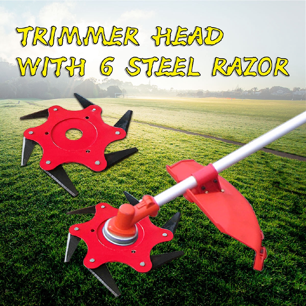 Weeder Plate Blades Lawn Mower Grass Eater Trimmers Head Brush Cutter Tool