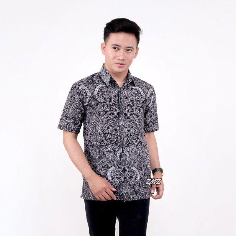 6 design Kemeja Batik Lengan Pendek Lelaki Ready Stock