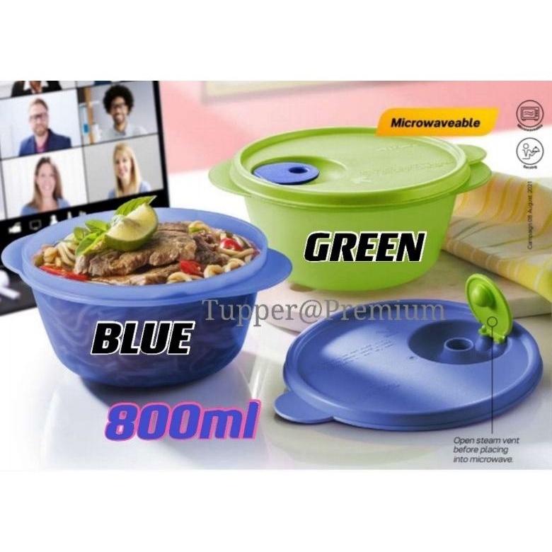 (READY STOCK)Tupperware CrystalWave Bowl (1pc or 2pcs) 800ml