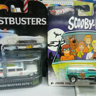 HOTWHEELS 2015 ECTO 1 GHOSTBUSTERS CARTOON CAR ALLOYS REAL RIDER RUBBER TYRES/""