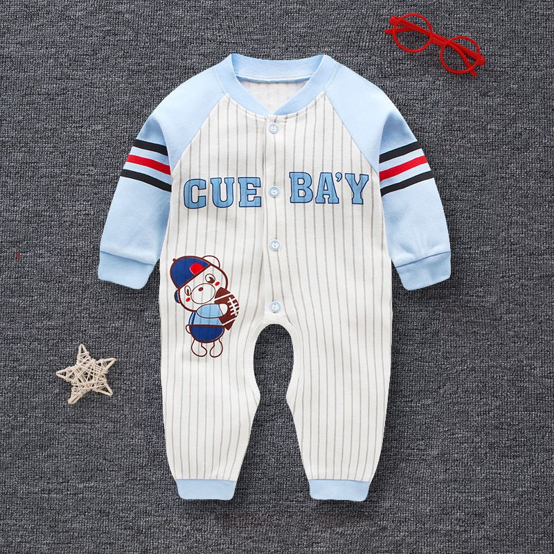 71290891b2df4 spot▪☃Baby romper suit in the spring and autumn were 1 year old clothes  cotton ha summer clothing climb 0 to 3 6 months