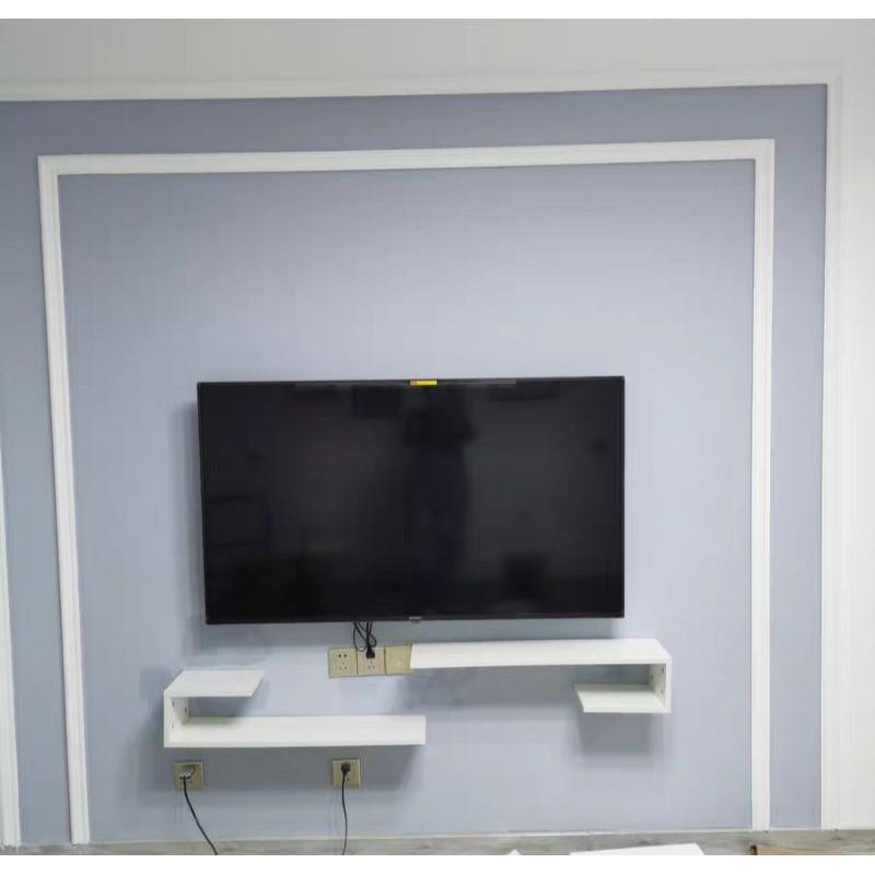Ready Stock Wall Tv Cabinet Tv Shelve Ikea Almari Wall Tv Shelve Shopee Malaysia