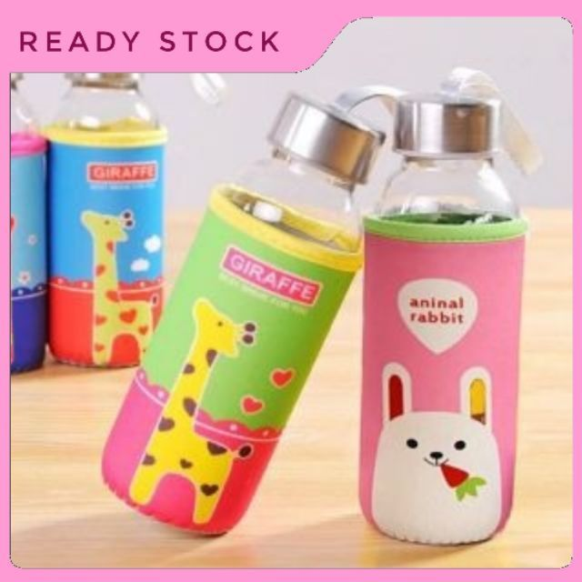 Glass Cup_ Glass Bottle 300ml