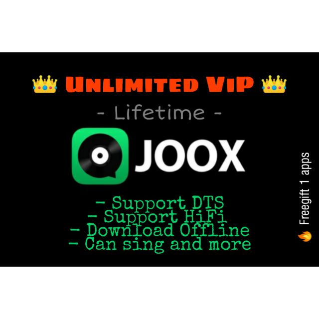 Joox Unlimited ViP Lifetime [Android Only]