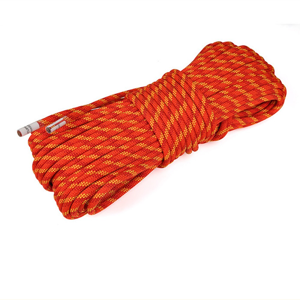 10//20m 11mm Climbing Rope Rappelling Rope Auxiliary Rope Static Rope Safety Rope