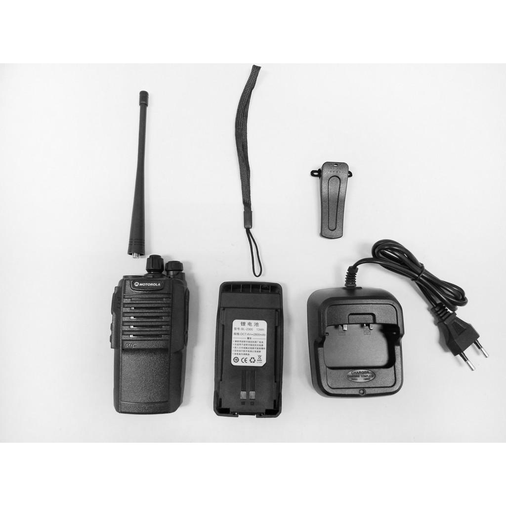 100% New 8W MOTOROLA GP-3288 GP3288 UHF Walkie Talkie 1 piece