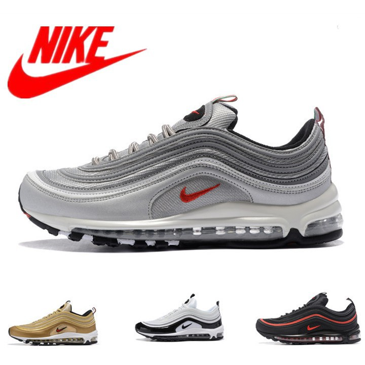 best service 3610f db42a [Nelly]Original NIKE Air Max 97 OG Women's and Men's Sport Running Shoes  Promotion
