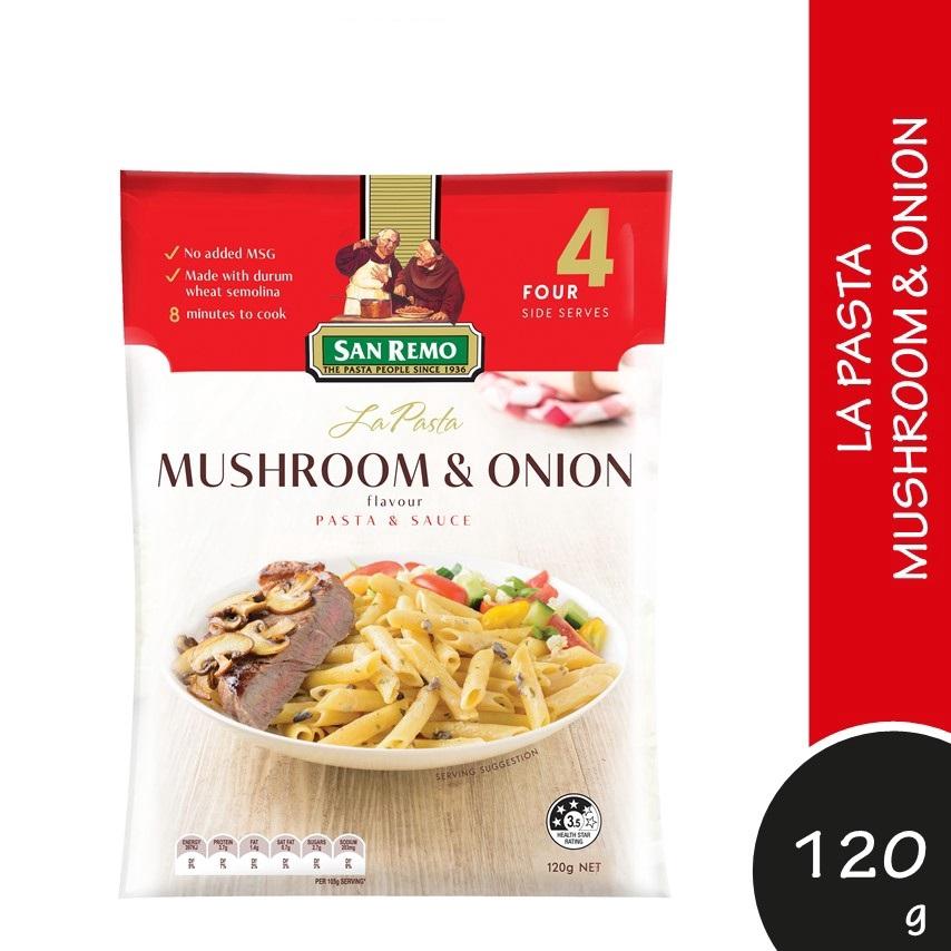 San Remo La Pasta Creamy Mushroom & Onion 120g
