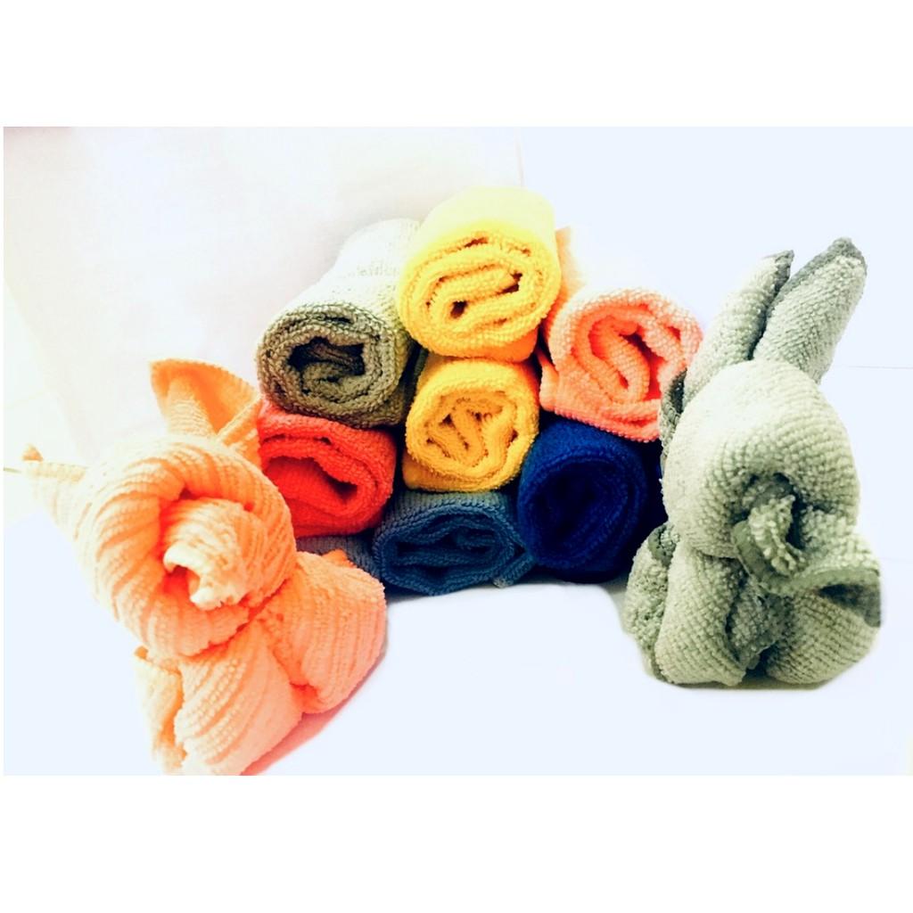 Microfiber Cloth Towel Colorful Design Soft Cloths