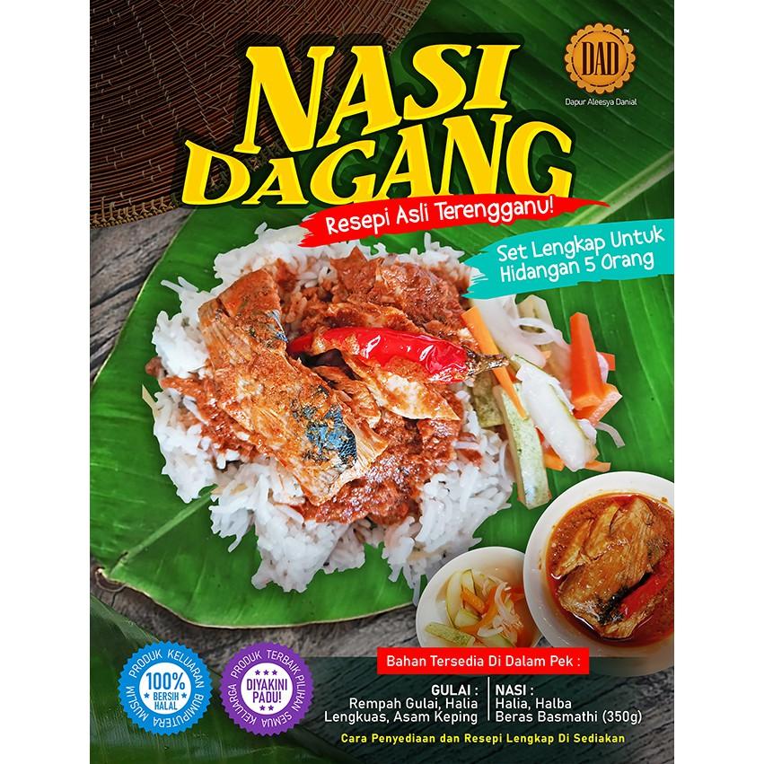 [ NASI DAGANG TERENGGANU SET LENGKAP] - Nasi Dagang Terengganu Original - Nasi Dagang DIY