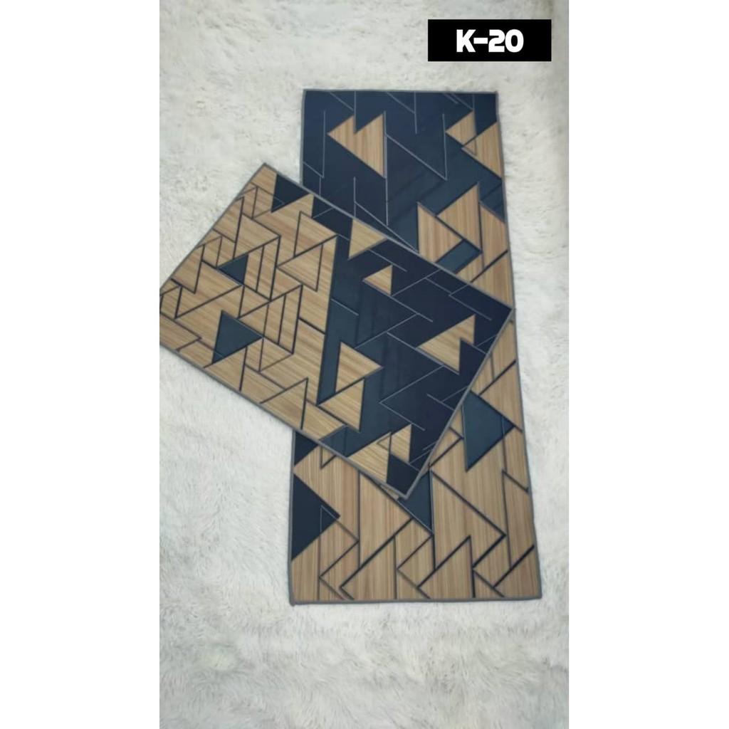 Anti Slip Kitchen Mat [ Ready Stock ] For Kitchen Decor / Water Proof Alas Kaki /Hot Design Floor Mats/Kitchen Rugs/Carpet