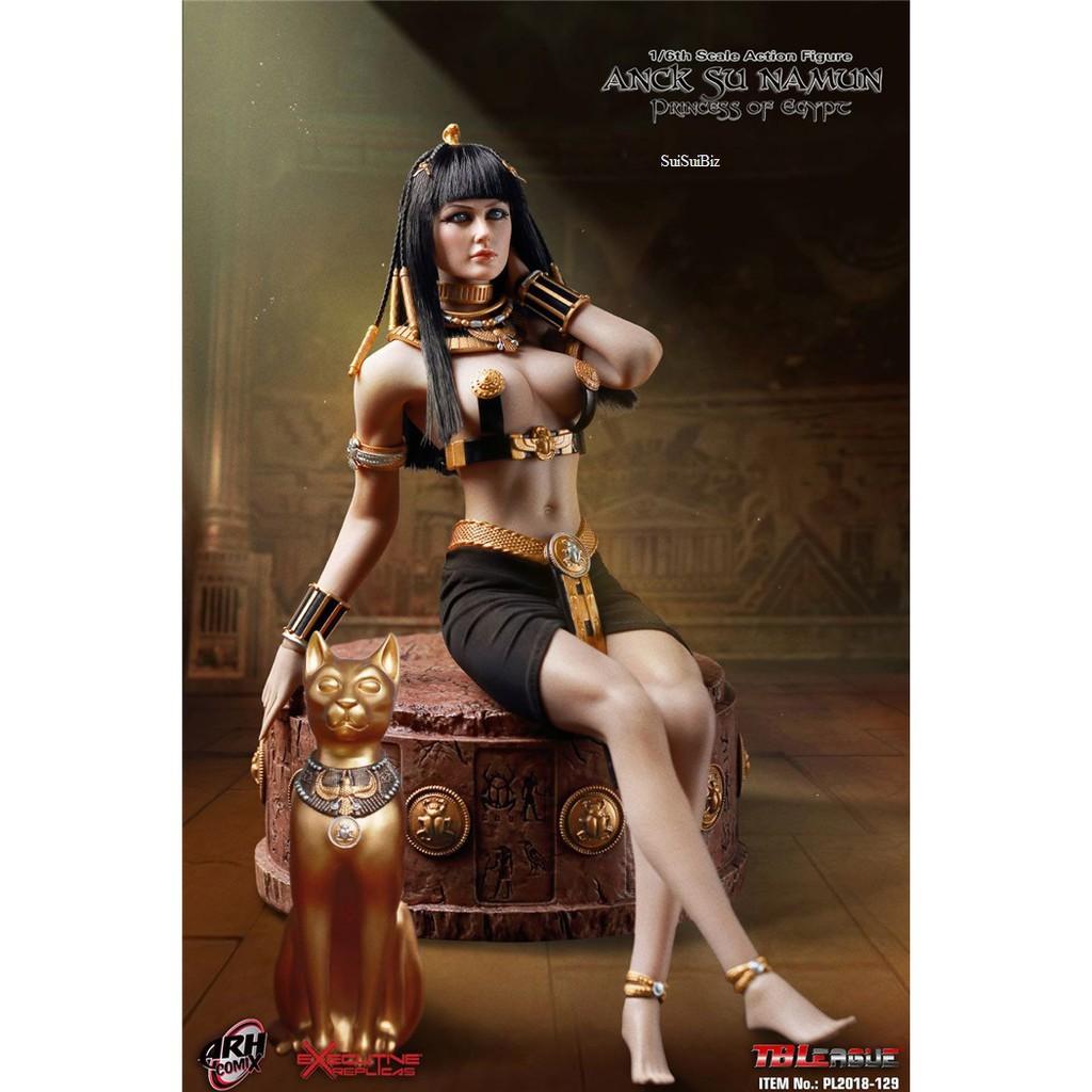"1//6 TBLeague PL2018-129 Anck Su Namun Princess of Egypt 12/"" Action Figure Belt"