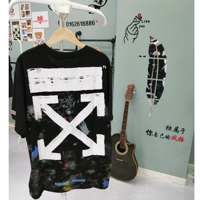 OFF-WHITE 7888B Premium Pure Cotton T-Shirt