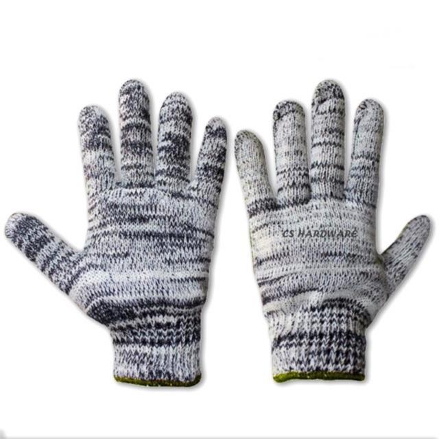 #1200 Worker Cotton Knitted Hand Glove / Sarung Tangan -  Terbaik (Pair)