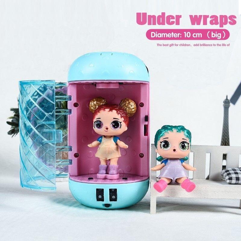 LOL Surprise Eye Spy Series Under Wraps Capsule Big Sister Doll Children Gifts