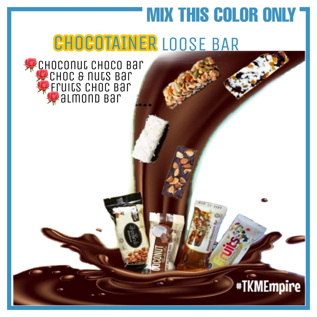 Chocotainer Viral 4 Flavour