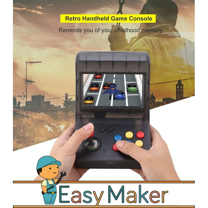 Mini Arcade Games Portable Machine Handheld Retro Game Consoles 3000 Games  HD Display & TV OUT FUNCTIONReady Stock