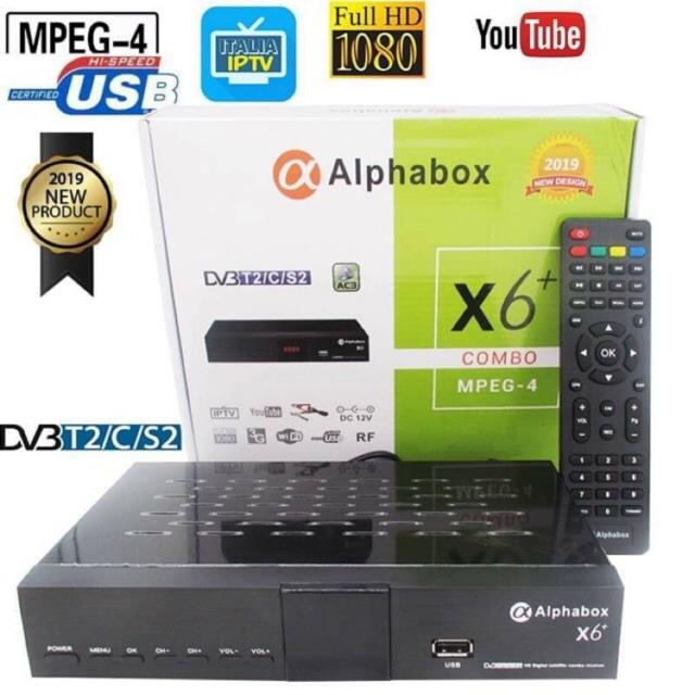 Alphabox x6+ 2019 DVB S2-T2