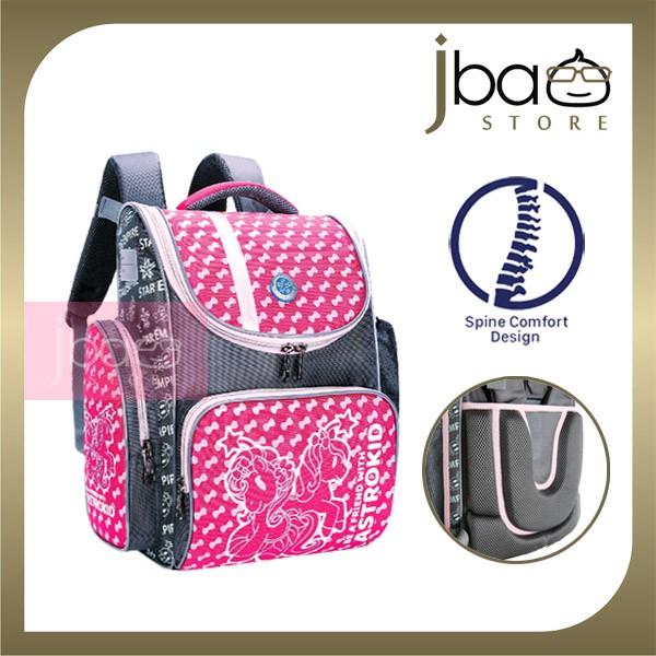 2020 Astrokid Kid Lightweight School Bag Astrokids 3D Foam Cushion Backpack Spine Comfort design AKR-801904-PN Pink