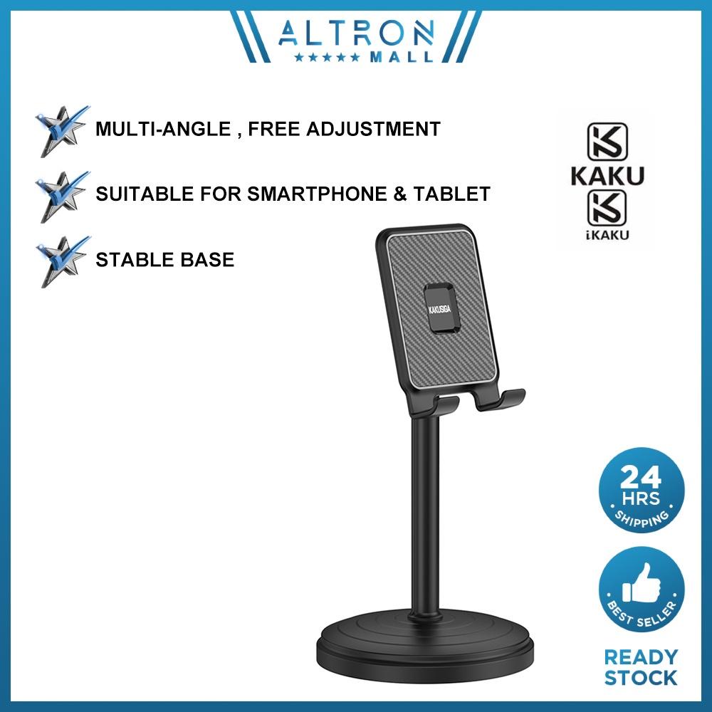 IKAKU KAKU GAOTUO Phone Holder Desktop Tablet Stand Stable Base Height Adjustable Live Stream Online Class Smartphone