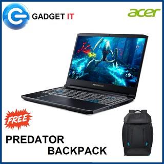 Acer Predator Helios 300 Ph315 52 794x I7 9750h 8gb 512gb Ssd 15 6 Fhd Ips 144hz Rtx2060 6gb Win10 Predator Back Pack