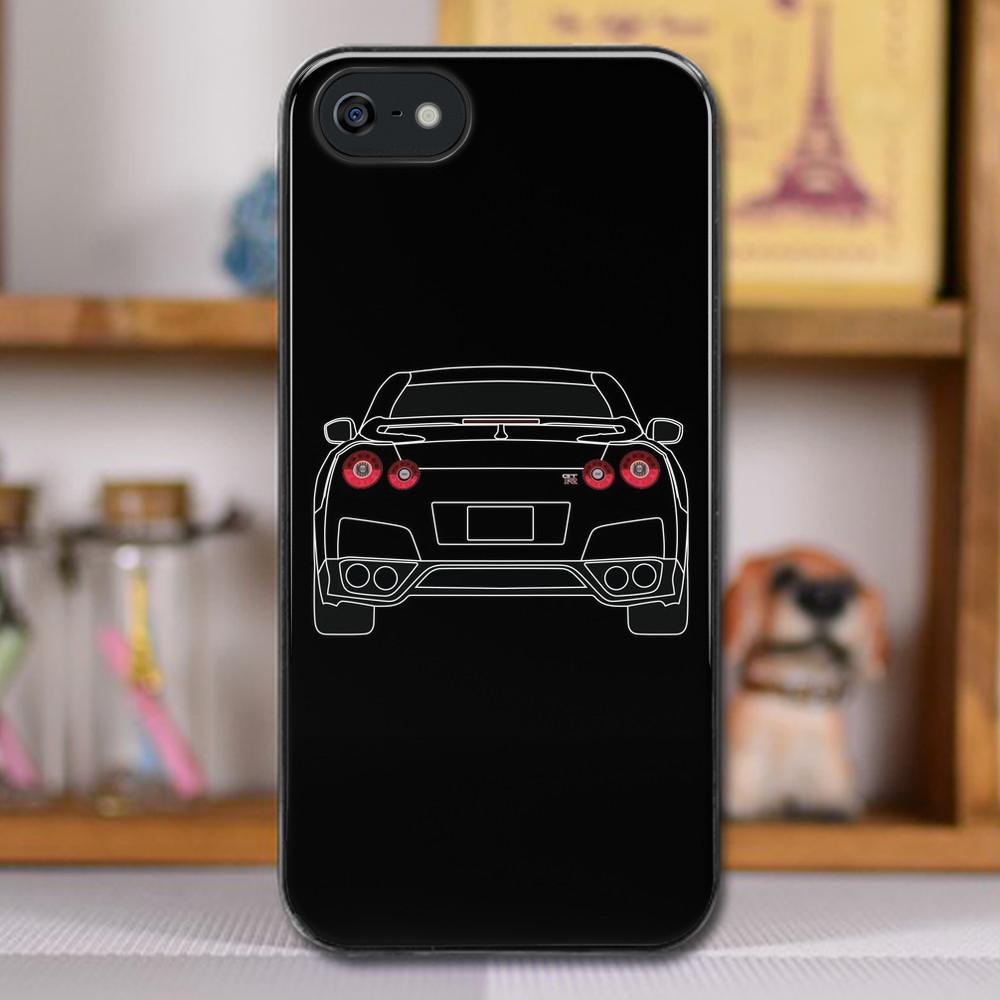 buy online da14a 9e3b7 Nissan GTR R35 White iphone case