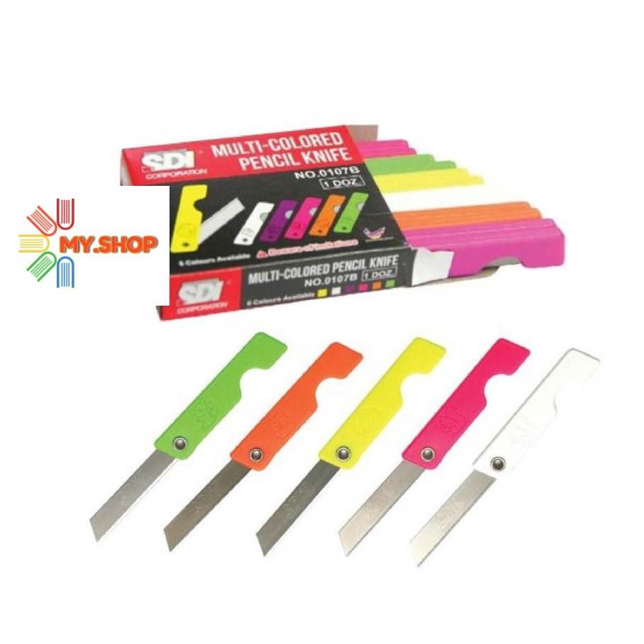 SDI Plastic Pencil Knife 0107B - 1 Doz