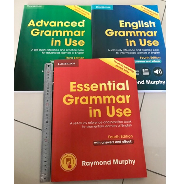 Grammar in Use is the world's best-selling grammar serie for learners of  English