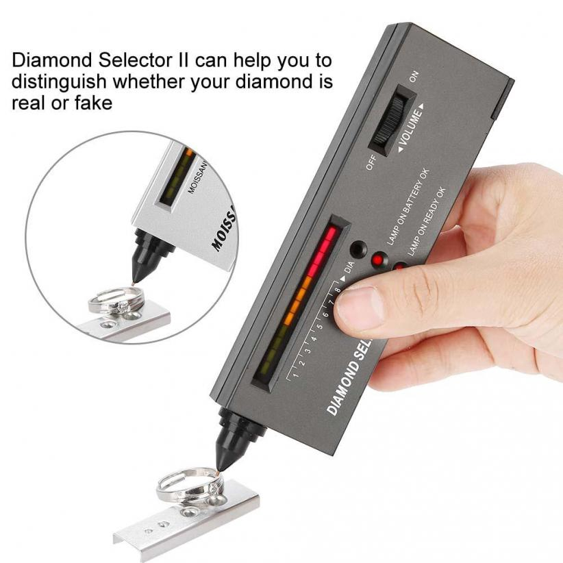 9V Diamond Tester Moissanite Selector Gemstone Jewelry Gems Jeweler Tools UK