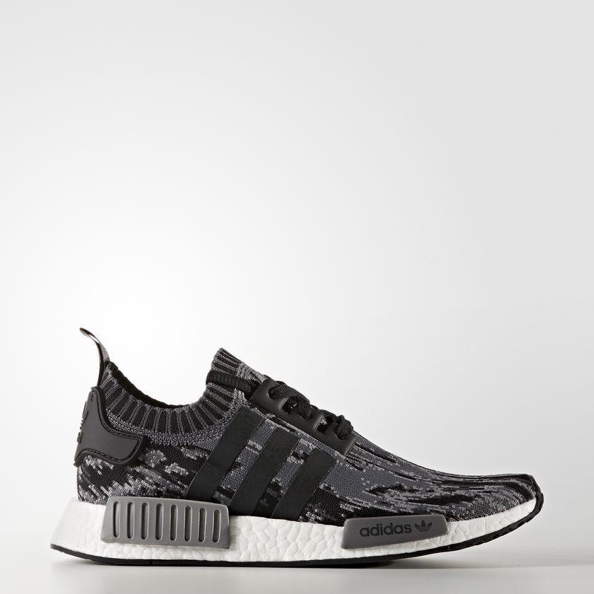 c4b4d43cb6bee adidas NMD R1 PK BOOST gray black woven zebra pattern camouflage adidas  BZ0223
