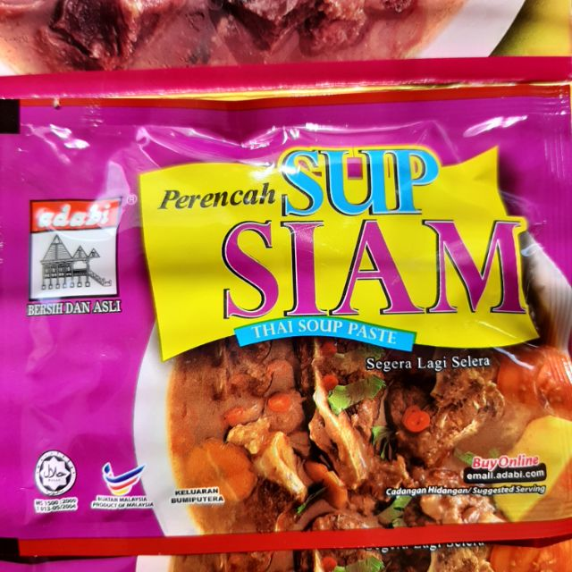 Perencah Sup Siam Adabi Shopee Malaysia