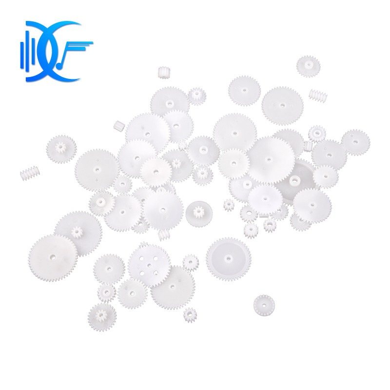 58 Styles Plastic Gears All Module 0.5 Robot Parts for DIY Arduino