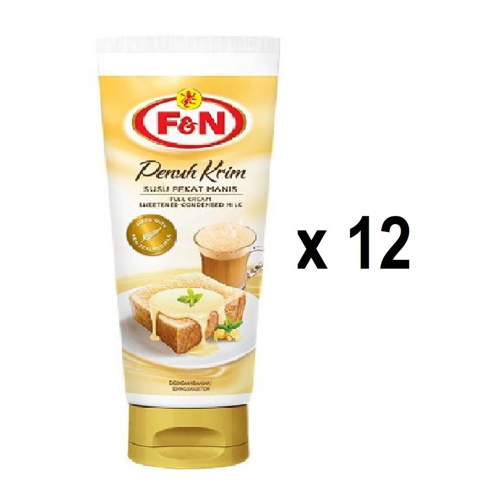 F&N Full Cream Sweetened Creamer Tube (180g x 12s)