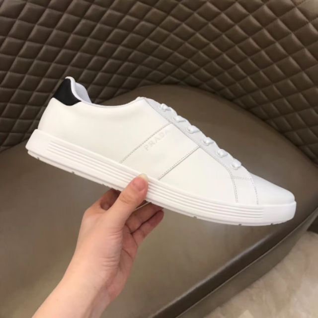 MEN'S LEATHER SNEAKERS HIGHEST EDITION 2019 WHITE 38-45 EURO