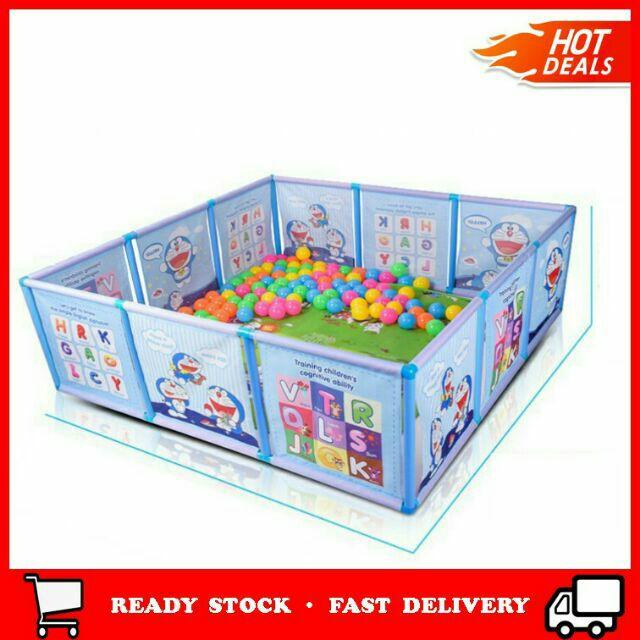 Baby Play Guardpagar Taman Mainan Bayi Kawal Pergerakan Keselamatan Kanak Kanak Jaga Fence Plastik Playpen