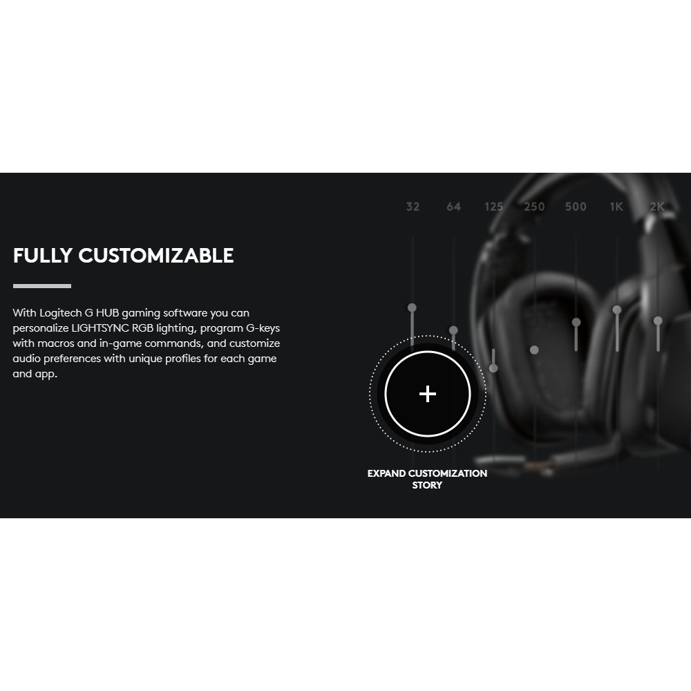 Logitech G933S Wireless 7 1 Surround Sound Lightsync Gaming Headset