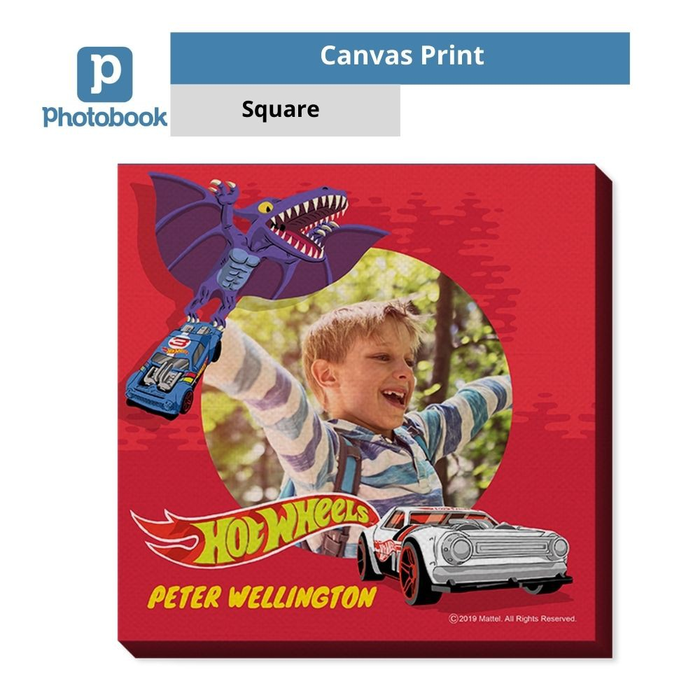 "Photobook Square Canvas Print (12"" x 12"")"